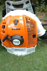 Commercial Backpack Blowers Review, Initial Impressions, Stihl Magnum 600, Husqvarna 380 BFS and RedMax 7150.