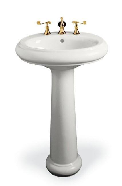 Kohler pedestal sink revival series eht blog - Kohler pedestal sinks small bathrooms ...
