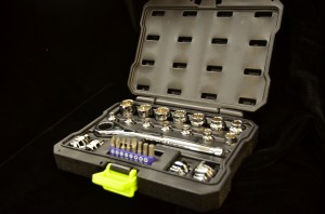 Kobalt Xtreme Access 27 Piece Socket Set, Compact Set With Many Applications