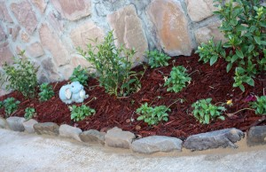 Natural Stone Landscape Edging
