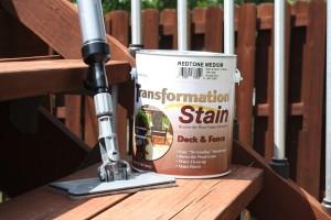 Deck Stain Update