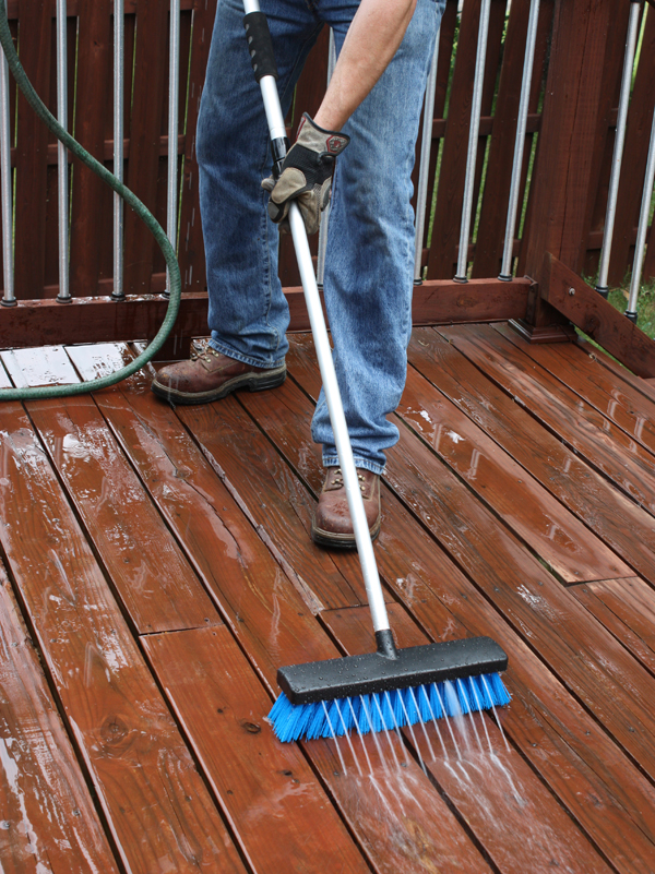 Can Paint Sprayer Be Used To Stain A Deck