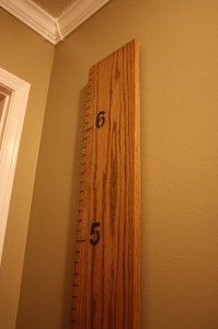 Make a Growth Chart for Kids