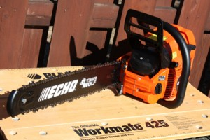 Got Trees? Echo CS-590 Timber Wolf Chainsaw Can Take Care of That