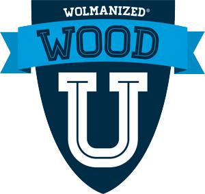 Wood U logo (3in)