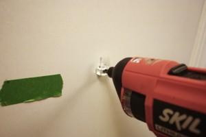 Mount a Screw in a Hollow Door