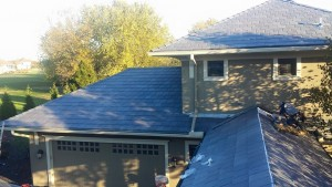Failing Concrete Roof Leads Homeowner to Polymer Slate Roofing