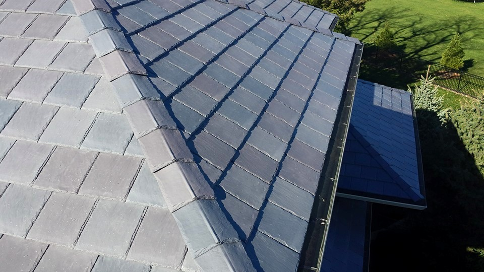 Failing Concrete Roof Leads Homeowner To Polymer Slate