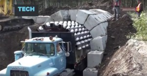 Next-Generation Tunnel Building Technology — with a Truck!