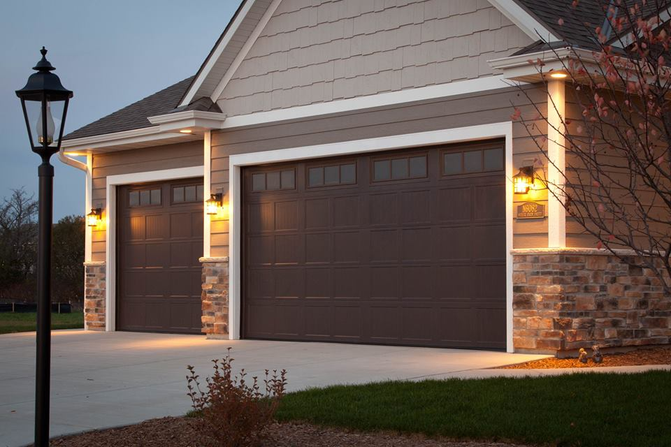 Statement making designs with eye catching appeal experts at haas door recommend that homeowners open themselves and their garage doors up to the