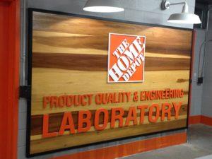 EHT Visits the Home Depot Testing Lab