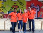 Pitching in with the Home Depot Foundation