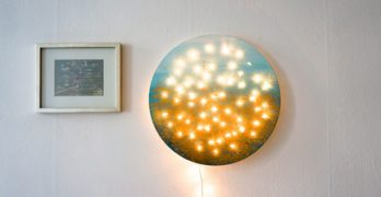 DIY Canvas Lights