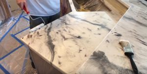 DIY Epoxy Countertop