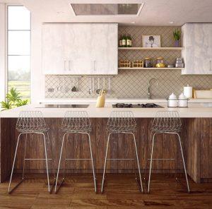 Make a Small Kitchen Look Bigger