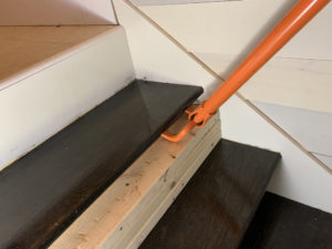 Stair Tread Removal