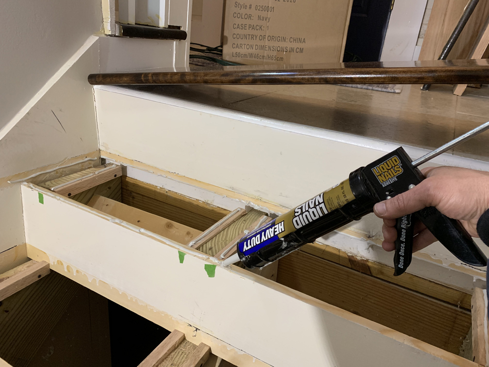Stair Tread Installation - Extreme How-To Blog