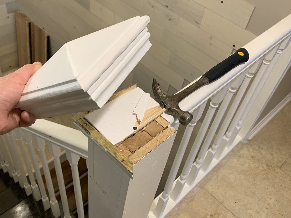 Stair Rail Removal - Extreme How-To Blog
