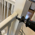 Stair Rail Removal