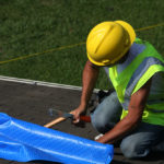 How to Tarp a Shingle Roof
