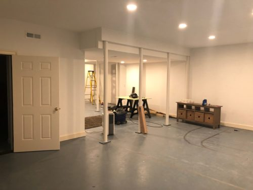 Basement Remodel: Molding & Millwork